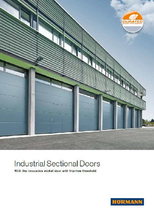 Industrial sectional doors: quality and safety | Hormann co uk