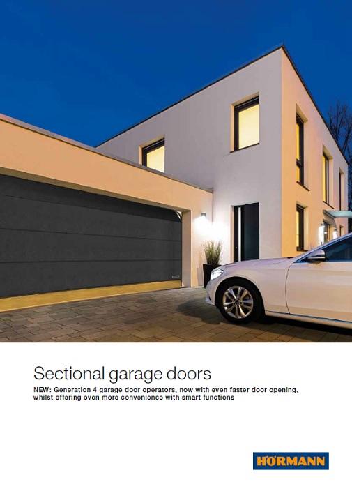 Sectional Garage Doors From Hrmann Modern Sectional Doors From